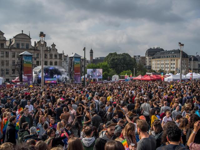 Belgian Pride Festival 2018© visit.brussels - Eric Danhier - 2018
